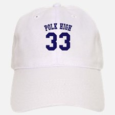 Team Polk High 33 Baseball Baseball Cap