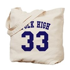 Team Polk High 33 Tote Bag