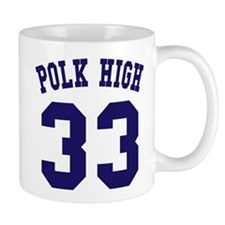 Team Polk High 33 Mug