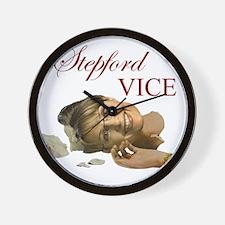 Stepford Vice - Sarah Palin Wall Clock