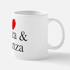 """""""I Love (Heart) Monza & Brianza"""" Mug"""