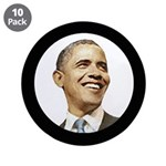 "Obama for President 3.5"" Button (10 pack)"
