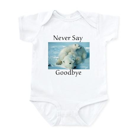 save the polar bear Infant Bodysuit