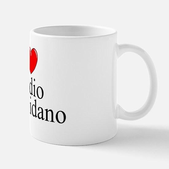 """I Love (Heart) Medio Campidano"" Mug"