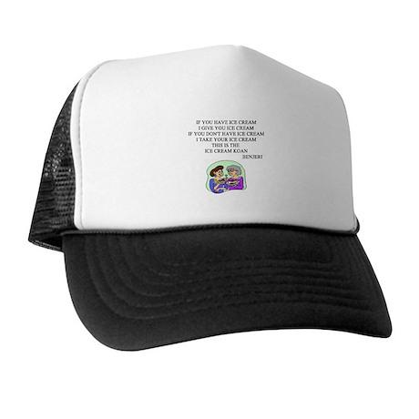 zen ice cream koan Trucker Hat