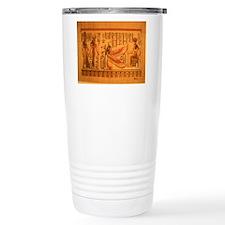 MAAT and AUSET (ISIS) Travel Mug