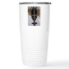 African Fertility Doll Travel Coffee Mug