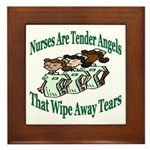 Nurse Framed Tile