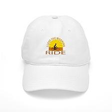 i love the morning ride Baseball Cap