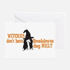 Witches Melt Greeting Card