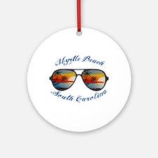 South Carolina - Myrtle Beach Round Ornament