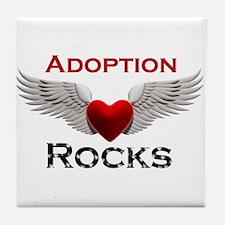 Cute Adoption Tile Coaster