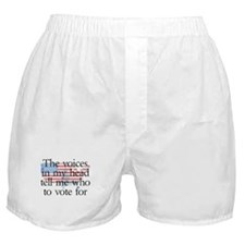 Voices in my head Boxer Shorts