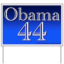 Obama 44 Yard Sign