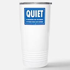 Quiet! Travel Mug