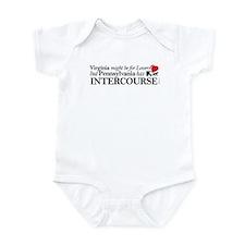 PA has Intercourse... Infant Bodysuit