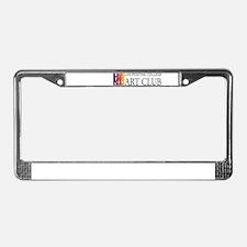Art Club Logo License Plate Frame