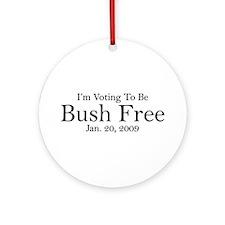Bush Free Ornament (Round)