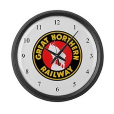 Great Northern Large Wall Clock