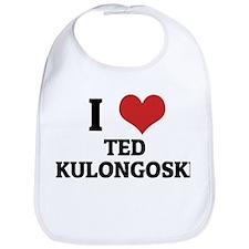 I Love Ted Kulongoski Bib