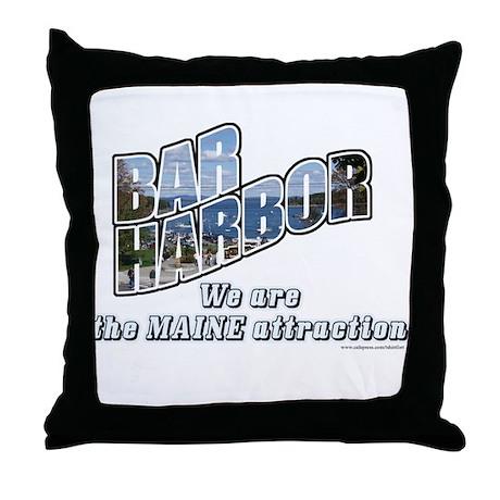 Bar Harbor Style Throw Pillow