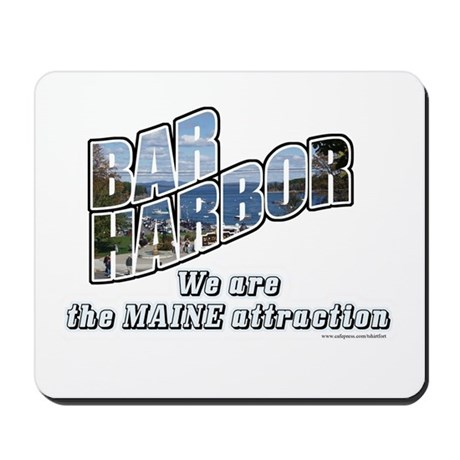 Bar Harbor Style Mousepad