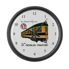 St. Nicholas Mountain Large Wall Clock