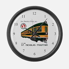 St. Nicholas Mountain Large Wall Clock