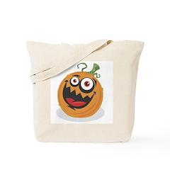 Crazy Pumpkin Tote Bag