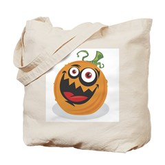 Crazy Pumpkin Tote Bag