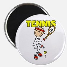 """Male TENNIS 2.25"""" Magnet (100 pack)"""