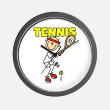 Male TENNIS Wall Clock