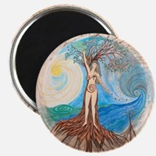 Unique Goddess of healing Magnet