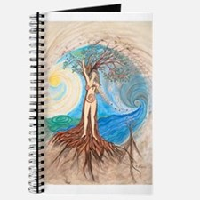 Cute Celtic tree of life Journal