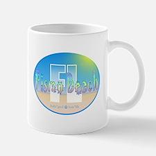 Unique Pebble beach california Mug