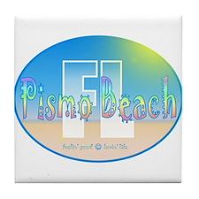 Cool Pebble beach california Tile Coaster