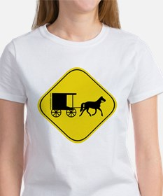 Amish Buggy Crossing Tee
