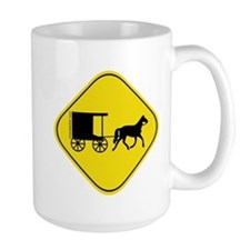 Amish Buggy Crossing Mug