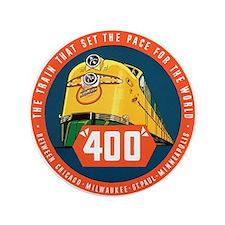 """400 Train 3.5"""" Button"""