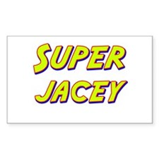 Super jacey Rectangle Decal