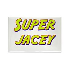 Super jacey Rectangle Magnet