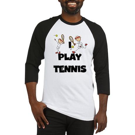 Male I Play Tennis Baseball Jersey