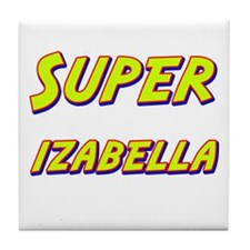 Super izabella Tile Coaster