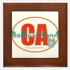 Cute Balboa Framed Tile