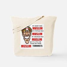 NOT MUSLIM? Tote Bag