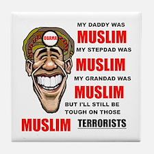 NOT MUSLIM? Tile Coaster