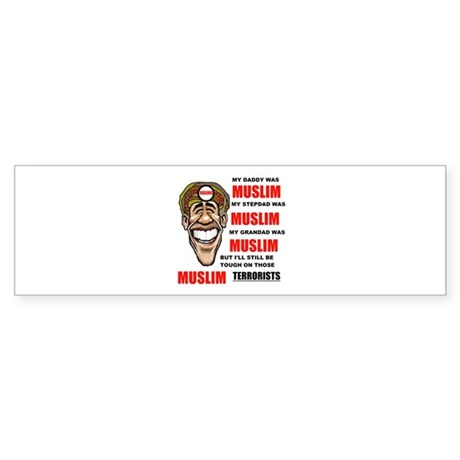 NOT MUSLIM? Bumper Sticker