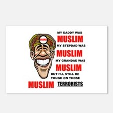 NOT MUSLIM? Postcards (Package of 8)