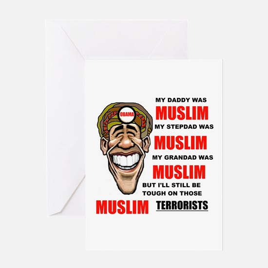 NOT MUSLIM? Greeting Card