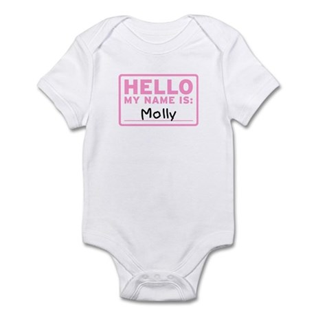 Hello My Name Is: Molly - Infant Bodysuit